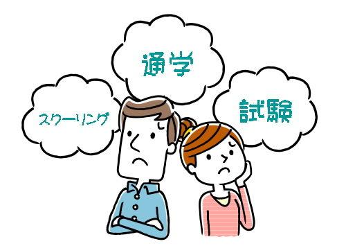 スクーリング・通学・科目試験